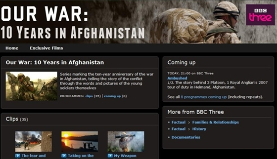 Picture of BBC Our War 10 Years in Afghanistan