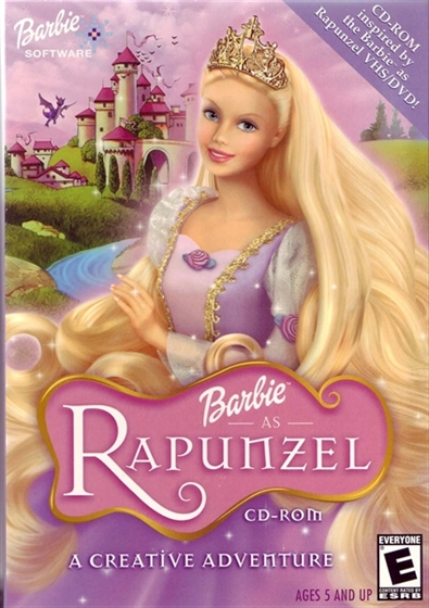 Picture of barbie as rapunzel - مدبلج