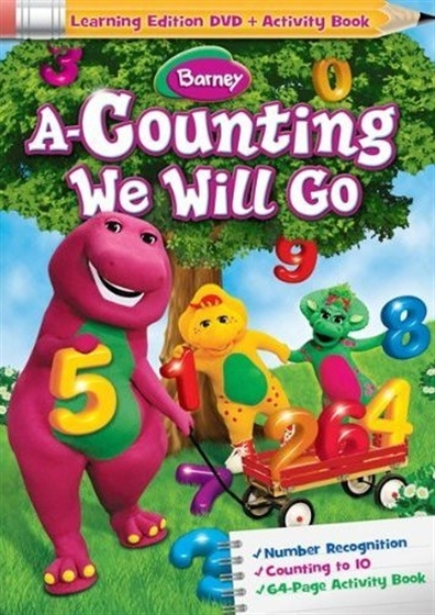 Picture of Barney A Counting We Will Go