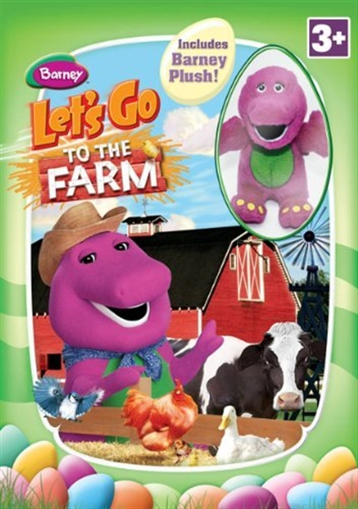 Picture of Barney Lets Go To The Farm