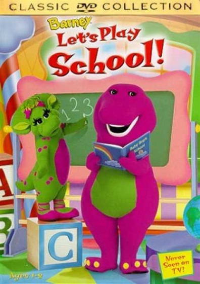 Picture of Barney Lets Play School