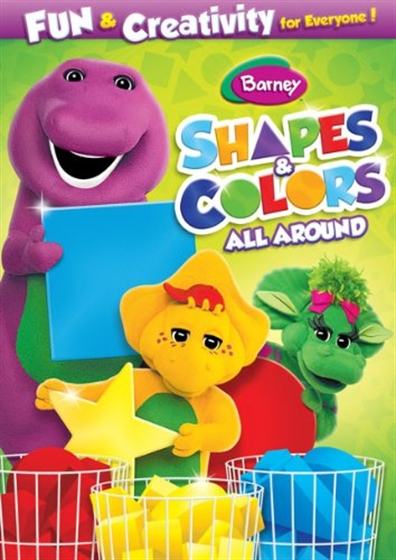 Picture of Barney Shapes And Colors All Around