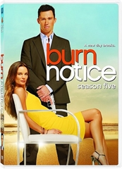 Picture of Burn Notice Season 5 [Bluray]