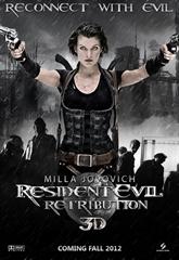 Picture of Resident Evil Retribution 3D+2D [2012] Original
