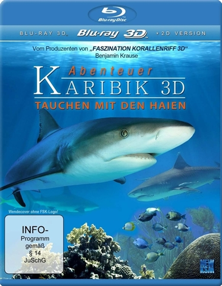 Picture of Adventure Caribbean Diving With Sharks 3D+2D [2012] Original