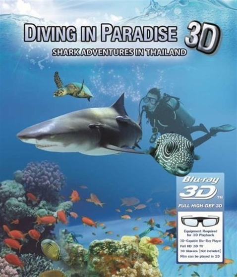 Picture of Diving In Paradise Shark Adventures In Thailand 3D + 2D [2012] Original