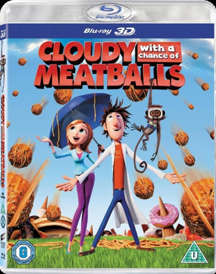Picture of Cloudy With A Chance Of Meatballs 3D+2D [2009] Original
