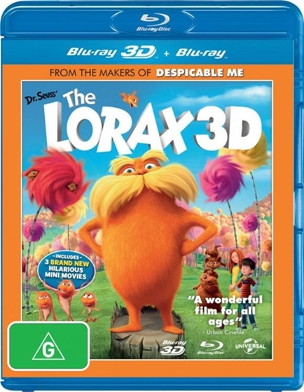Picture of Dr. Seuss The Lorax 3D+2D [2012] Original