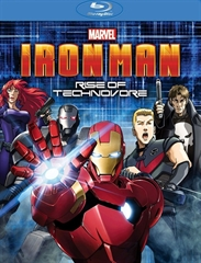 Picture of Iron Man Rise Of Technovore [Bluray]