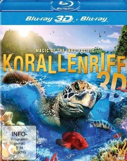 Picture of Coral Reef Magic Of The Indo Pacific 3D and 2D [2013] Original