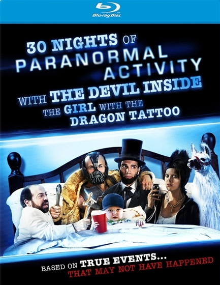 Picture of 30 Nights Of Paranormal Activity With The Devil Inside The Girl With The Dragon Tattoo [2013]