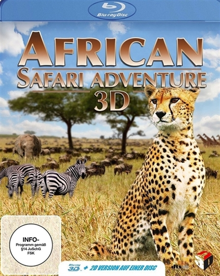 Picture of African Safari Adventure 3D and 2D [2013] Original