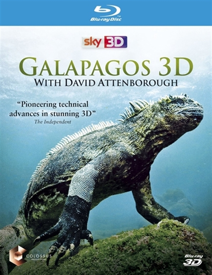 Picture of Galapagos with David Attenborough 3D and 2D [2013] Original