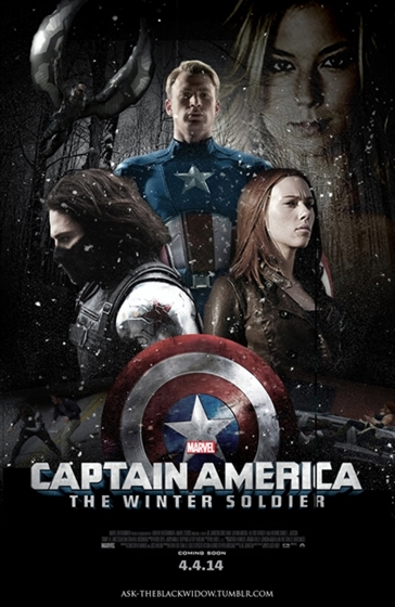 Picture of Captain America The Winter Soldier 3D and 2D [2014] Original
