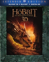 Picture of The Lord of the Rings The Hobbit The Desolation of Smaug Part 5 [Extended Edition] 3D and 2D [2013] Original