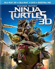 Picture of Teenage Mutant Ninja Turtles 3D and 2D Original [2014]