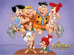 Picture of The Flintstones - Hollyrock-A-Bye Baby