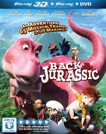 Picture of BACK TO THE JURASSIC 3D and 2D Original [2015]
