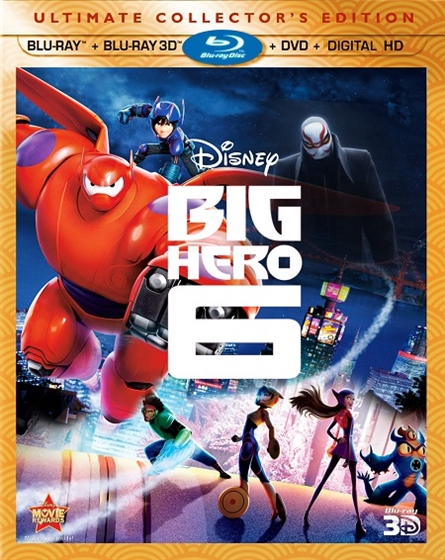 Picture of Big Hero 3D and 2D Original [2014]