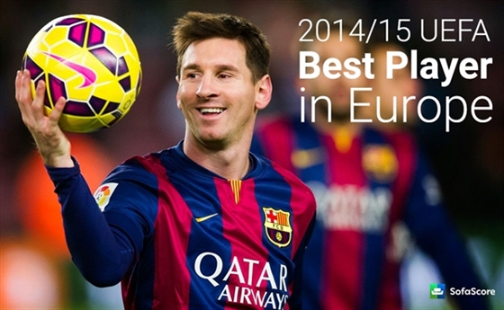 Picture of Best Player In Europe Award 2014 - HD