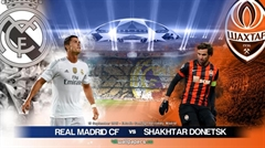 Picture of UEFA Champions League - Shakhtar - R.Madrid  - HD