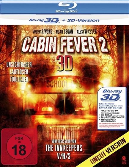 Movies Q8 Cabin Fever Part 2 3d 2d 2009 Original