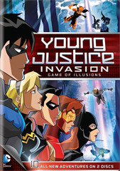 Picture of YOUNG JUSTICE INVASION - Season 2 [BluRay]
