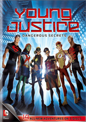 Picture of young justice dangerous secrets [BluRay]