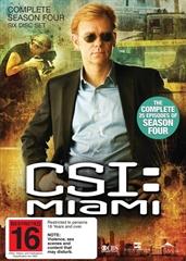 Picture of CSI : Miami - Season 4 [Bluray]