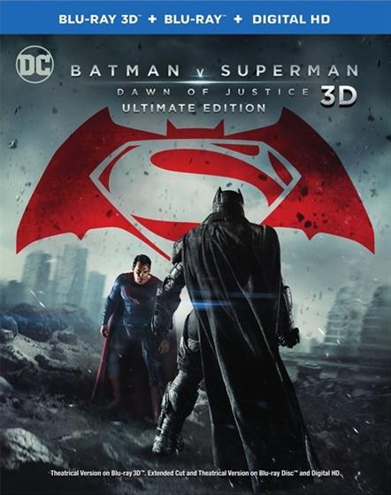 Picture of Batman v Superman Dawn of Justice 3D and 2D [2016] Original