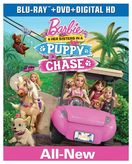 Picture of Barbie & Her Sisters in a Puppy Chase [2016]