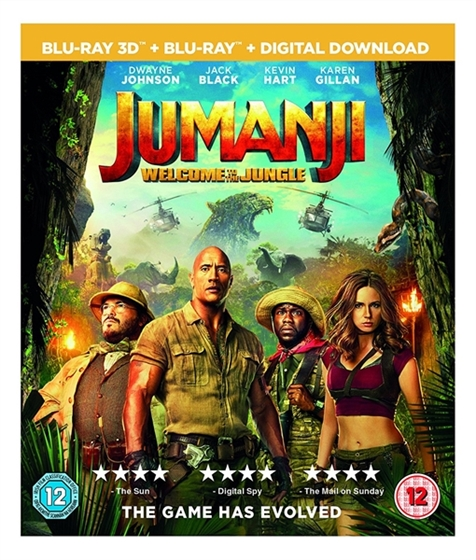 Picture of Jumanji Welcome To The Jungle [2017] 3D and 2D