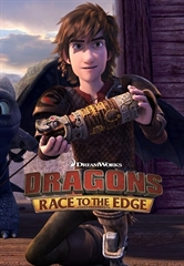 Picture of Dragons Dreamworks Race to the Edge - Season 5 [BluRay]