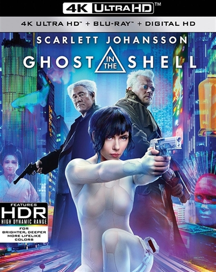 Picture of Ghost in the Shell [2017] 4K Ultra HD
