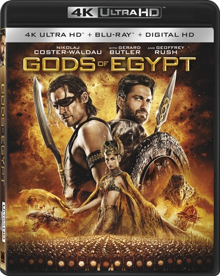 Picture of Gods of Egypt [2016] 4K Ultra HD