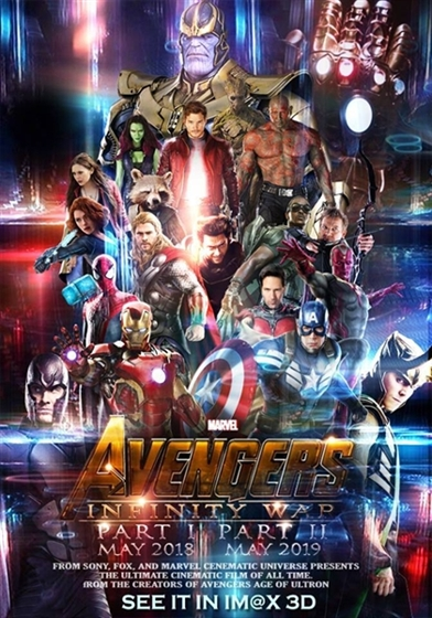Picture of Avengers Infinity War [2018] 3D and 2D