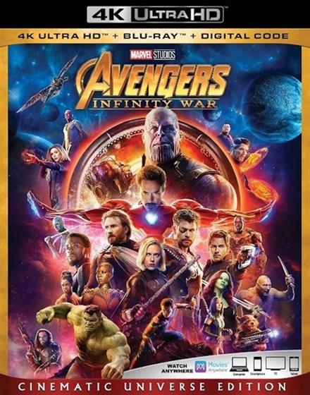 Picture of Avengers Infinity War [2018] 4K Ultra HD