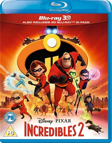 Picture of Incredibles 2 [2018] 3D and 2D