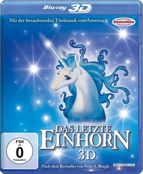 Picture of The Last Unicorn [1982] 3D and 2D