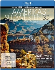 Picture of Americas Southwest 3D From Grand Canyon To Death Valley 3D+2D