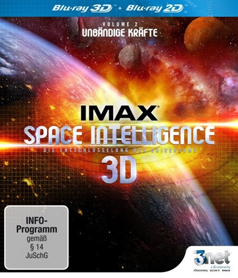 Picture of IMAX Space Intelligence 3D Vol. 2 3D+2D