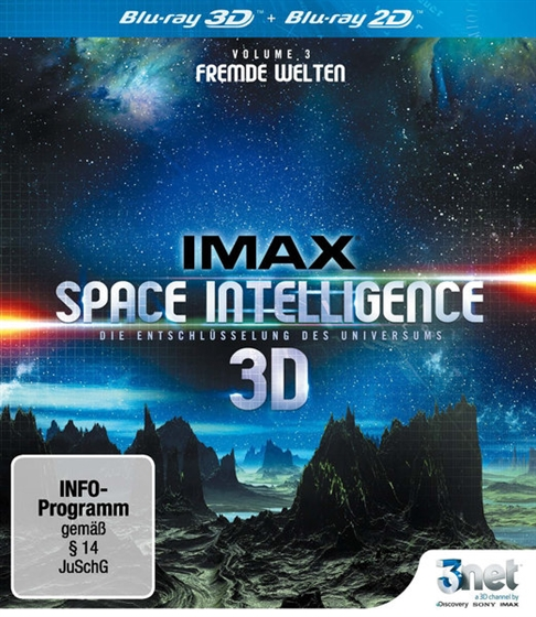 Picture of IMAX Space Intelligence 3D Vol. 3 3D+2D