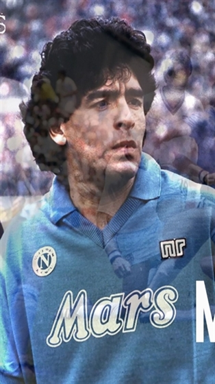 Picture of MARADONA 7 years in naples