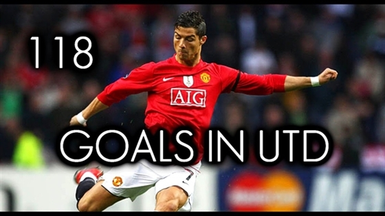 Picture of Cristiano Ronaldo ● All 118 Goals for Manchester United ● 2003-2009 - HD