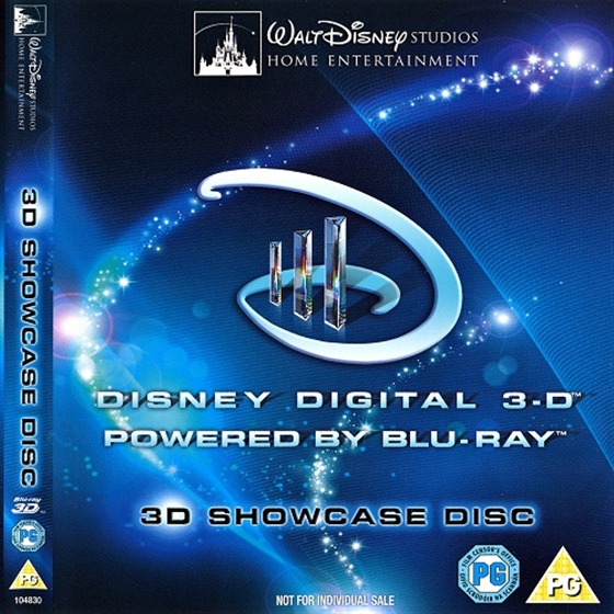 Picture of Disney 3D showcase Demo disc [>>>] 3D and 2D