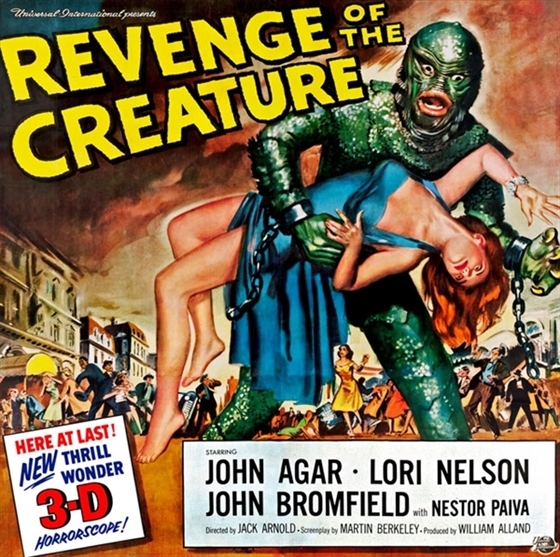 Picture of Revenge of the Creature [1955] 3D and 2D